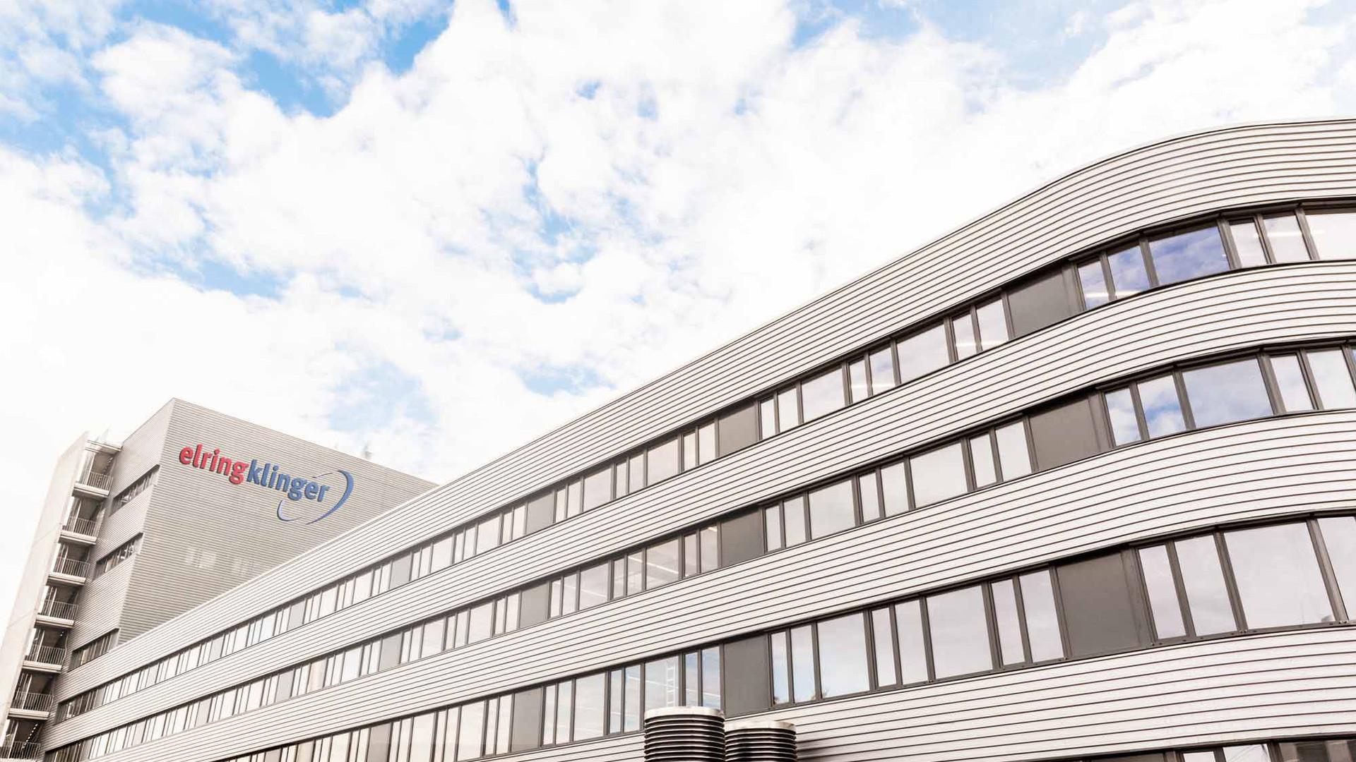 [Translate to Koreanisch:] ElringKlinger Kunststofftechnik GmbH Bietigheim-Bissingen new production building